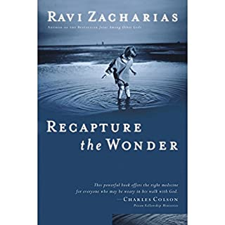 Recapture the Wonder audiobook cover art