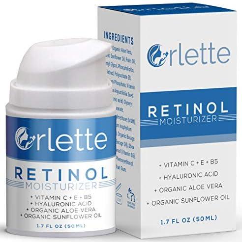 Orlette Retinol Moisturizer Anti Aging Firming Facial Cream Reduce Wrinkles Dark Spots Fine product image
