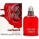 Amor Amor By Cacharel For Women. Eau De Toilette Spray 3.4 Oz.