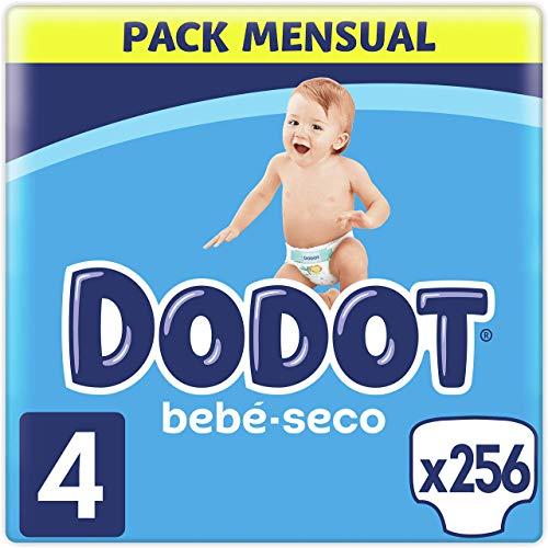 Dodot Pañales Bebé-Seco Talla 4 (9-14 kg...