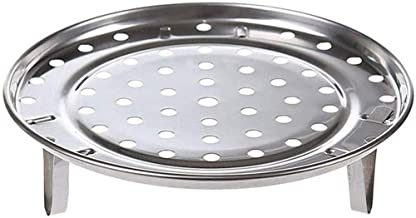 Round Stainless Steel Rack Inch Diameter Steaming Rack Stand Canner Canning Racks Steamer Stock Pot Steaming Tray Pressure...