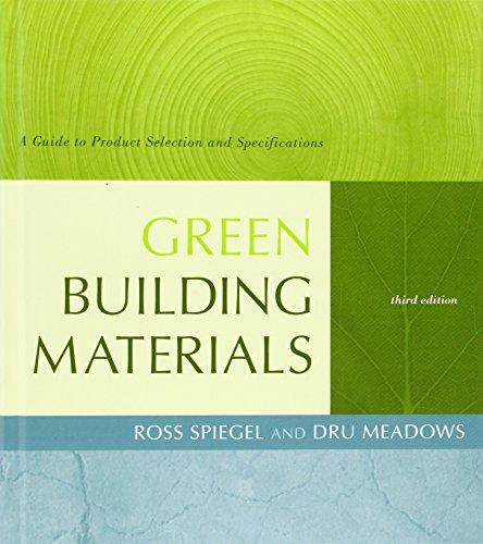 Spiegel, R: Green Building Materials