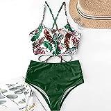 Traje De Baño Mujer Conjunto De Bikini - Sexy Bikini De Cintura Alta Empujar Hasta Traje De Baño Mujeres 2 Piezas Set Trajes De Baño Mujer Trajes De Baño Mujer Traje De Baño Para Las Mujeres Sun