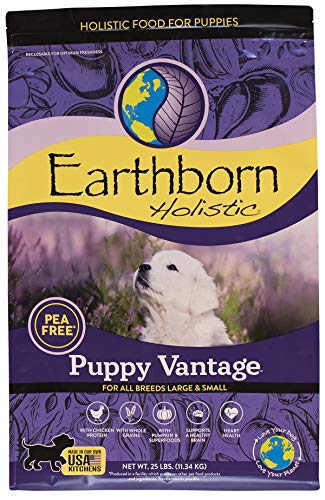 Earthborn Holistic Puppy Vantage Dry Dog Food, 25 lb