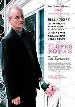 Broken Flowers Movie Poster (27 x 40 Inches - 69cm x 102cm) (2005) Spanish -(Bill Murray)(Jeffrey Wright)(Sharon Stone)(Frances Conroy)(Jessica Lange)(Tilda Swinton)