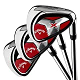 Callaway Golf Men's X Series 2018 Iron Set, 4-PA, Steel, Right Hand
