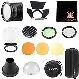 GODOX AK-R1 Kit + H200R Cabezal del Flash de Anillo para Godox AD200 Flash del Bolsillo