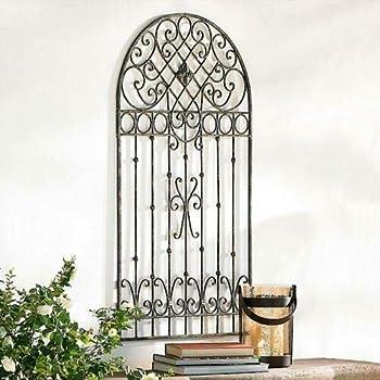 """Amazon.com : Home Collection Parisian Farmhouse 12"""" Metal Garden"""