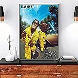 WDQFANGYI Tyler The Creator Poster Flower Boy Band Music Cover Hip Hop Rapper Arte De La Pared Pintura Bar Decoración De La Habitación del Hogar 50X70Cm (Sh-5634)