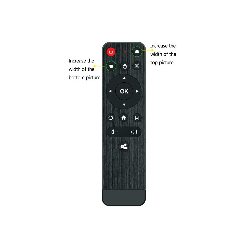 TOUMEI - Mando a Distancia para proyector: Amazon.es: Electrónica