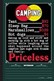 Camping Priceless Notebook: A Notebook, Journal Or Diary For Camper, Camping Lover - 6 x 9 inches, College Ruled Lined Paper, 120 Pages