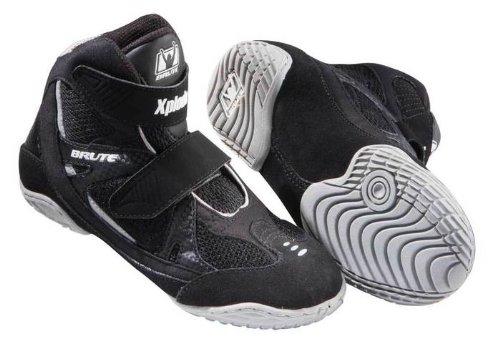 Brute Xplode 2 Youth Wrestling Shoes - Black/Silver - 13K