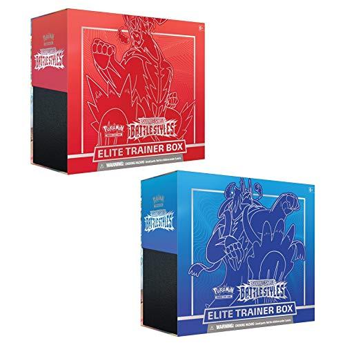 Pokemon Sword & Shield 5 Battle Styles Elite Trainer Box