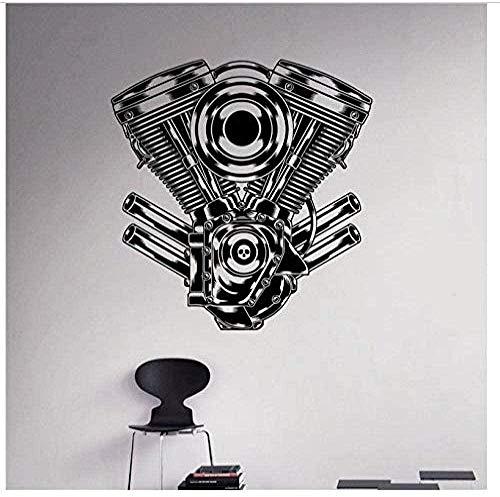 Wall Sticker Engine Creative stickers muraux décoration de la maison salon chambre cuisine art autocollants 58X60Cm
