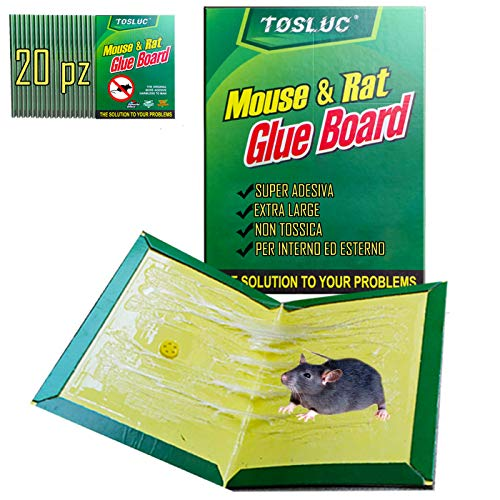 Trappola per Ratti Elettronica per Catturare al Coperto e allaperto Ratto Mouse Killer Elettronico Roditore Topo Zapper Guangmaoxin Trappola per Topi