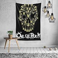 One Ok Rock 24 タペストリー 多機能壁掛け 装飾用品 タペストリー おしゃれ 模様替え 部屋 窓カーテン 個性ギフト 新居祝い104x152cm