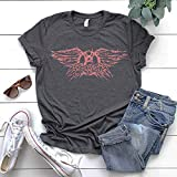 Aerosmith Unisex T-shirt Vintage Distressed Rock Band Logo Tee
