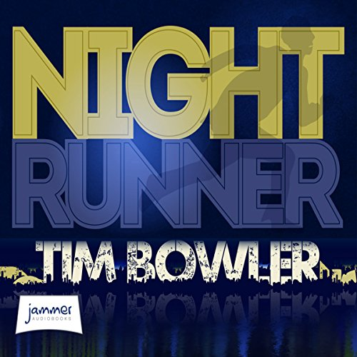 Night Runner audiobook cover art