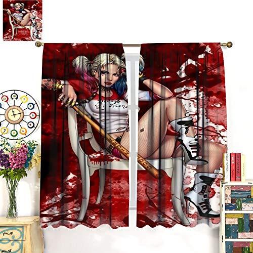 51OXnd6Ma0L Harley Quinn  Curtains