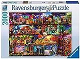 Ravensburger Puzzle 2000 Piezas, El Mundo de los Libros, Jigsaw Puzzle, Puzzle para Adultos, Rompecabezas Ravensburger de óptima calidad