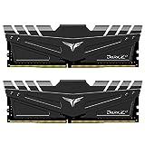 TEAMGROUP Módulo de Memoria RAM DDR4 de 32 GB (2 x 16 G), PC3600 Dark Z, TDZAD432G3600HC18JDC01