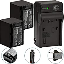 Pack Of 2 NP-FV70 Batteries & Battery Charger Kit for Sony HDR-CX190 HDR-CX200 HDR-CX210 HDR-CX220 HDR-CX230 HDR-CX260V HDR-CX290 HDR-CX380 HDR-CX430V HDR-CX580V HDR-CX760V HDR-PJ230 HDR-PJ380 HDR-PJ430V HDR-PJ580V HDR-PJ650V HDR-PJ710V HDR-PJ760V HDR-PV790V HDR-TD20V HDR-TD30V Handycam Camcorder + More!!