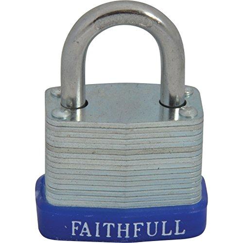 Faithfull FAIPLLAM30 hangsloten, set van 6