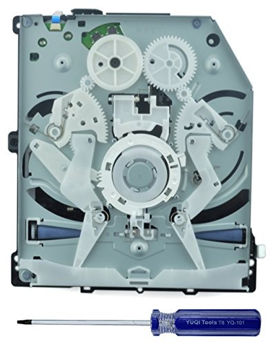 Genuine Sony PS4 Blu-ray DVD Drive Replacement with BDP-020 BDP-025 Circuit Board KES-490A KEM-490AAA Laser for CUH-1001A CUH-1115A CUH-10XXA CUH-11XXA Sony PlayStation 4 models with Opening T8 Tool