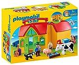 Playmobil Fattoria Portatile, Giocattoli, Multicolore, 6962