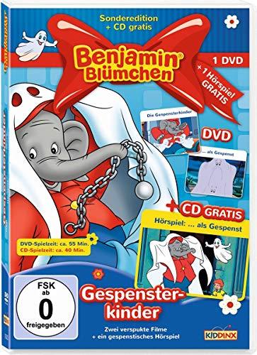 Benjamin Blümchen - Gespensterkinder: DVD: als Gespenst + Die Gespensterkinder. CD: als Gespenst