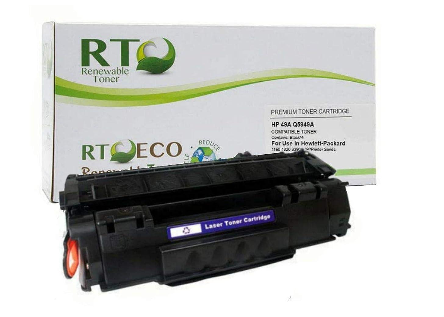 Renewable Toner Compatible Toner Cartridge Replacement for HP 49A Q5949A LaserJet 1160 1320 3390 3392