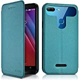 KARYLAX Flip Case for Archos 50b Turquoise Blue (Ref.5-C)