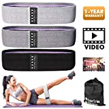 Resistance Bands for Legs and Butt, Exercise Bands Booty Bands Hip Bands Wide Workout Bands...