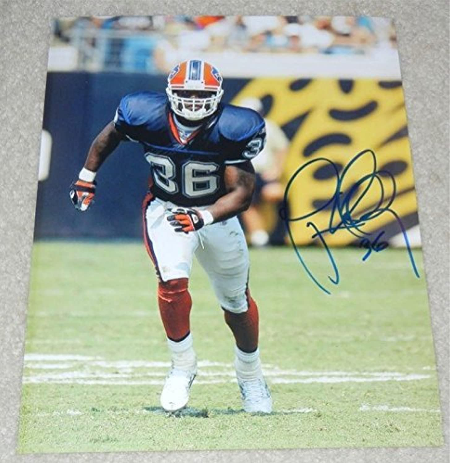 Lawyer Milloy Autographed Photo  8x10  Autographed NFL Photos