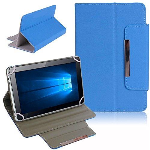 Nauci Tablet Schutz Tasche Hülle für ARCHOS 101b Xenon Hülle Cover Universal Bag, Farben:Blau