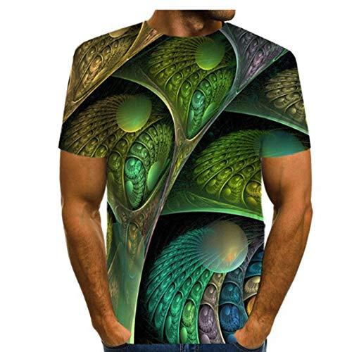 SSBZYES Camisetas De Hombre Camisetas De Cuello Redondo para Hombre Camisetas De Manga Corta Estampadas para Hombre Camisetas De Verano Sueltas Y Transpirables De Manga Corta Camisetas De Gran Tamaño
