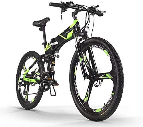 ENLEE SUFUL Rich bit TOP-860 36V 250W 12.8Ah Bicicleta de Ciudad de...