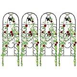 Amagabeli 4 Pack Garden Trellis for Climbing Plants 60