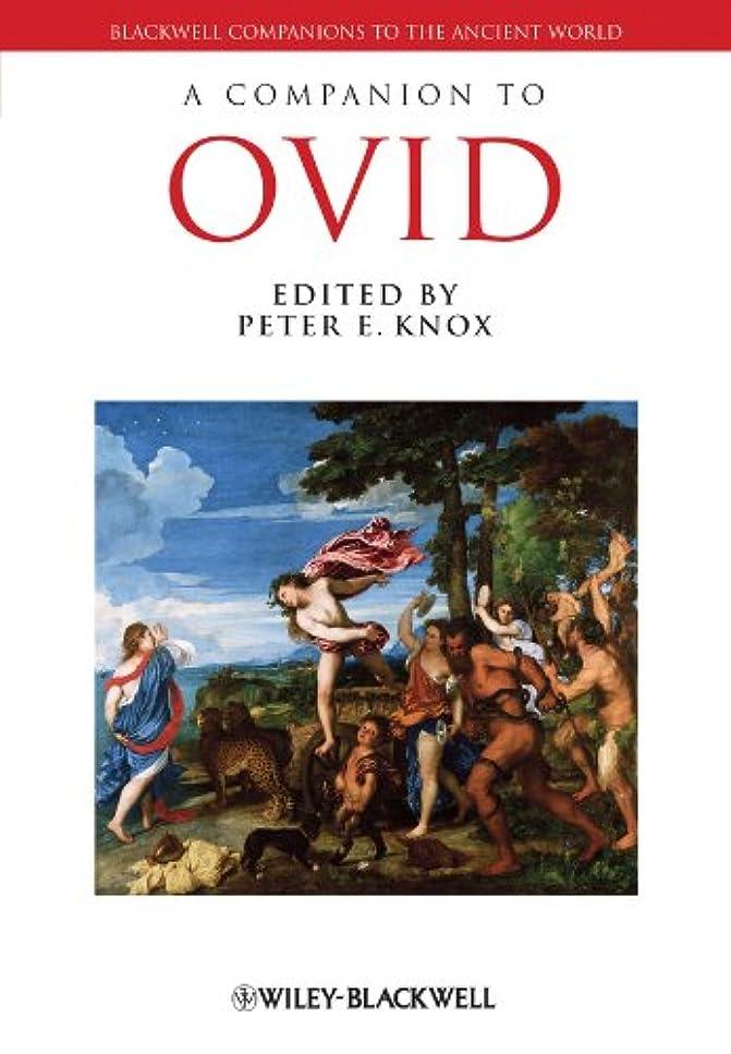意識的自由言及するA Companion to Ovid (Blackwell Companions to the Ancient World)