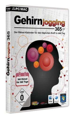 Gehirnjogging 365 - Der digitale Rätsel-Kalender