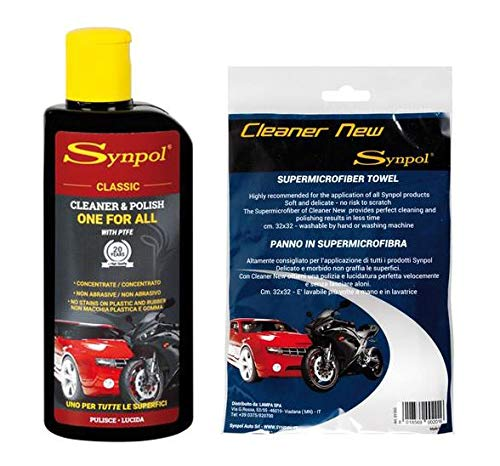 Kit Pulizia Synpol Classic polish protettivo 200 + Cleaner New