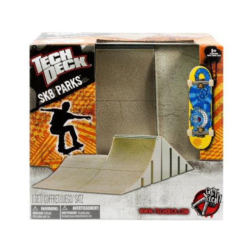 Tech Deck - Sk8Parks - BiLevel Bank Obstacle