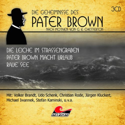 Die Geheimnisse des Pater Brown. Box 2 audiobook cover art