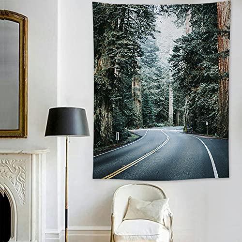 YDyun Tapiz De Tapices para La Sala De Estar Dormitorio Tela de Fondo de Tela Colgante Decorativa Retro