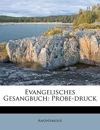 Evangelisches Gesangbuch: Probe-Druck