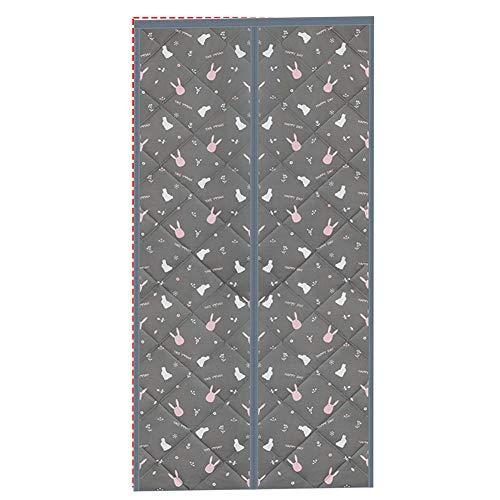 Cartoon Coniglio Pattern Tenda Porta Finestra 110x220cm/43.3x86.7in Tenda Canapone per La Camera da Letto della Scuola