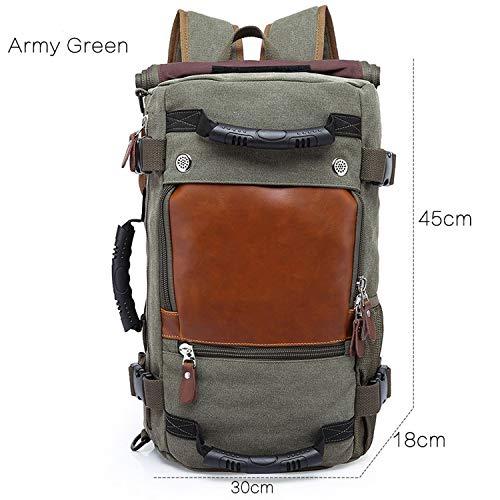 50L Waterproof Travel Backpack Men Women Multifunction 17.3 Backpacks Male outdoor Luggage Bag mochilas Best quality,0208-ARMYGREEN