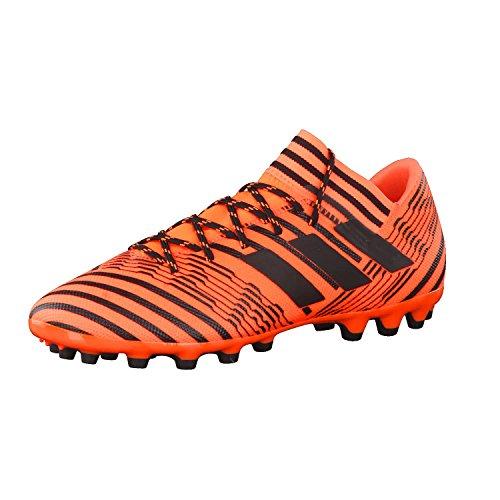 Adidas Nemeziz 17.3 AG, Botas de fútbol Hombre, Naranja (Narsol/Negbas/Negbas), 42 EU
