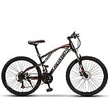 Bicicleta, Exterior Fuera Del Camino Amortiguador Chico Chica Bicicleta De Montaña De 24''26'' Bicicleta De Velocidad Variable De Acero Con Alto Contenido De Carbono 21/24/27/30,24 inch,30 speed