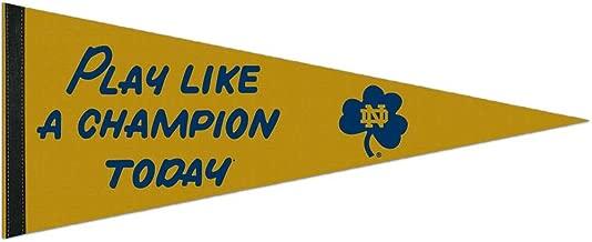 WinCraft NCAA 83614012 Notre Dame Premium Pennant, 12